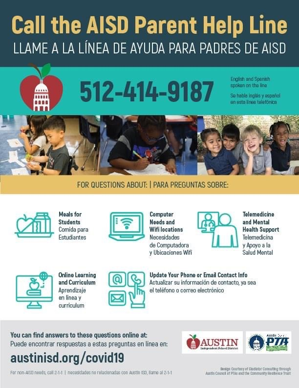 AISD Parent Help Line